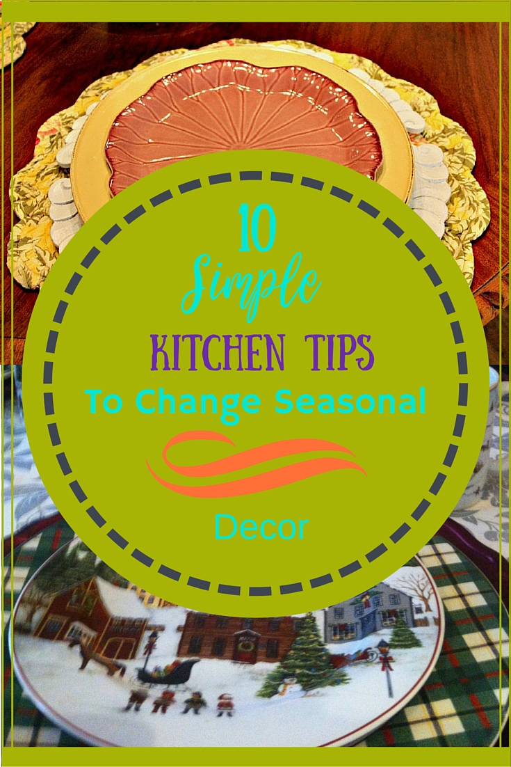 10 Simple Kitchen Tips from a Pro to Change Seasonal Decor