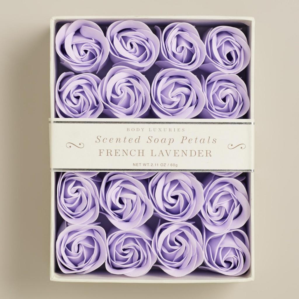 World Market Rose Petal Soaps www.chathamhillonthelake.com