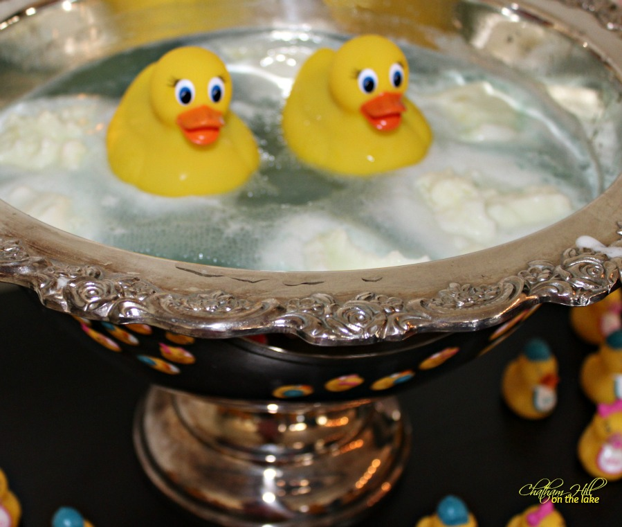 Rubber Ducky Baby Punch www.chathamhillonthelake.com