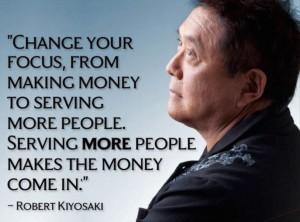 Influence quote by Robert Kiiyosaki