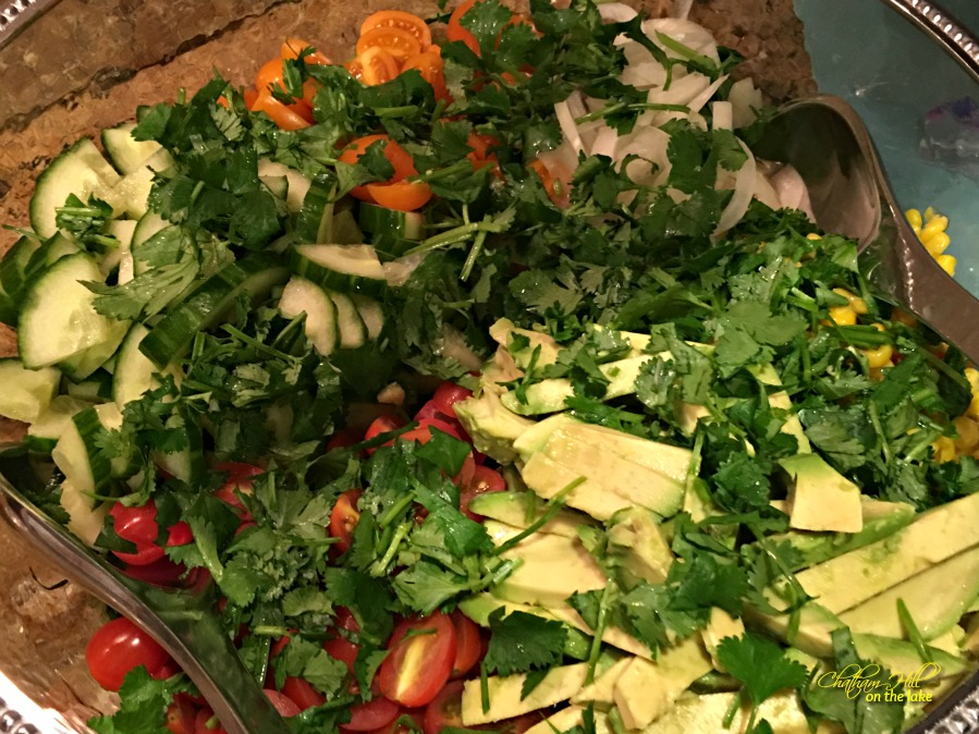 Mexican Salad www.chathamhillonthelake.com