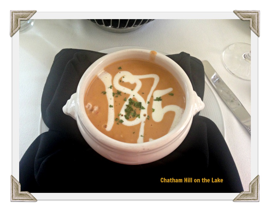 Artistic Presentation of Soup