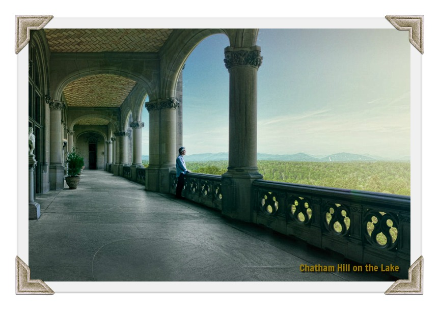 Porch with a view! The Biltmore Loggia