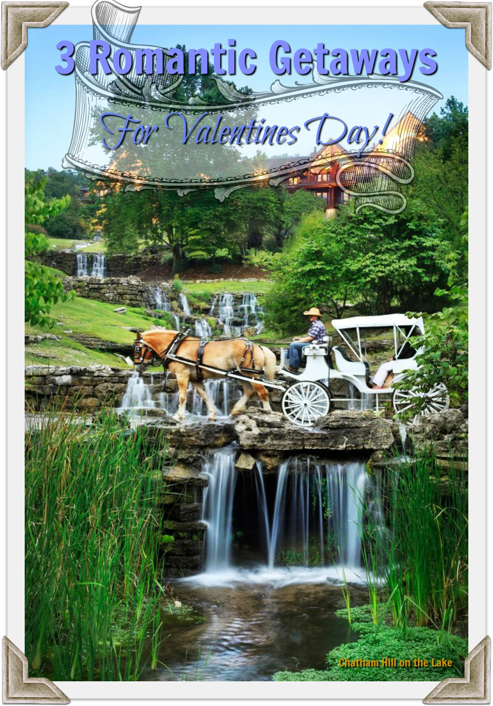 Big Cedar Lodge romantic getaway for Valentines Day