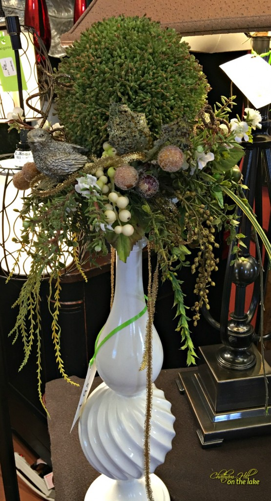 Imogenes candlestick floral www.chathamhillonthelake.com