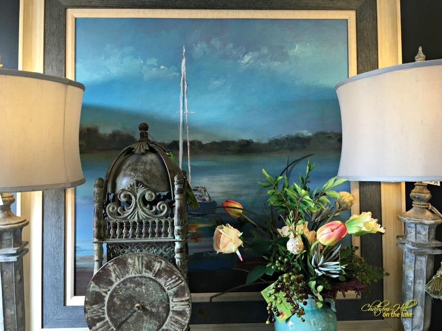 imogenes painting display www.chathamhillonthelake.com
