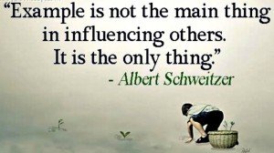 Influence quote by Albert Schweitzer www.chathamhillonthelake.com