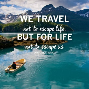 A Quote on Travel