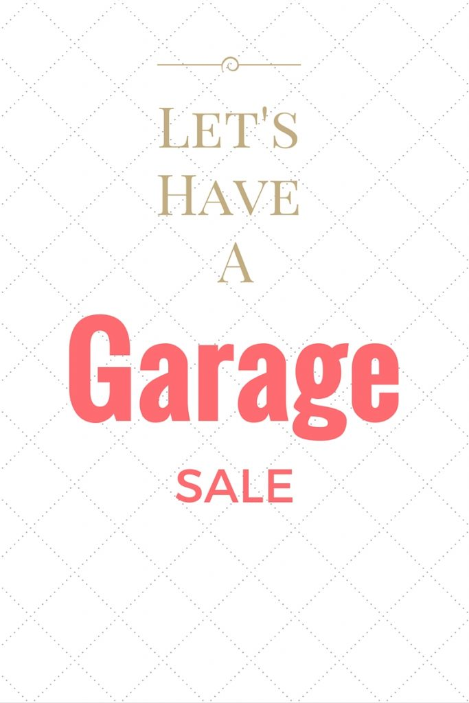 Garage Sale www.chathamhillonthelake.com