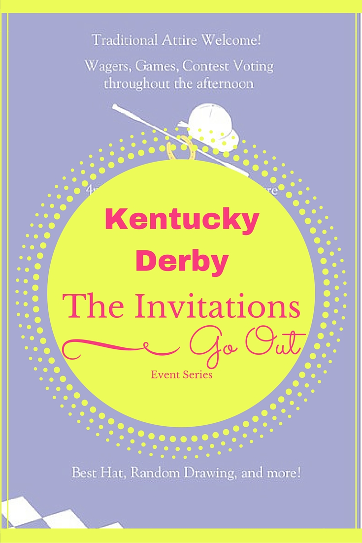 Kentucky Derby Invitations www.chathamhillonthelake.com