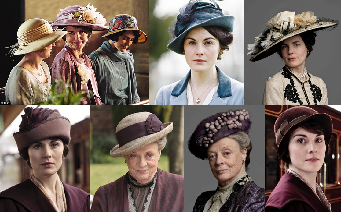 downton abbey hats www.chathatmhillonthelake.com
