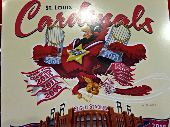 St. Louis Cardinals Score Card www.chathamhillonthelake.com