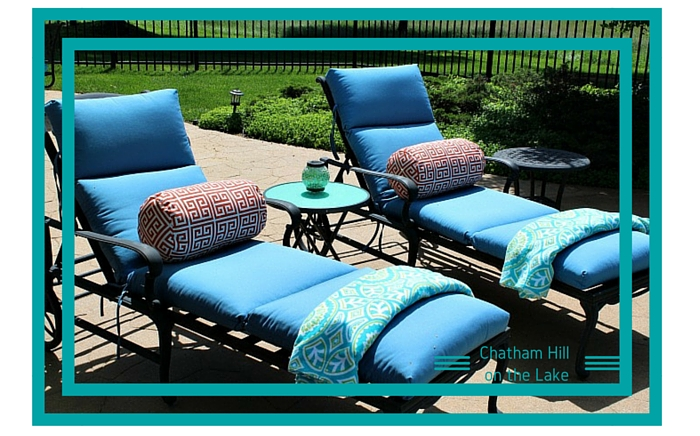 Loungers by the Pool www.chathamhillonthelake.com