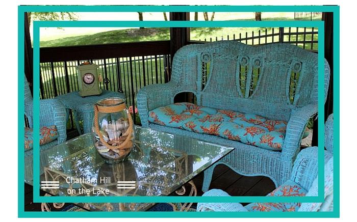 Gazebo Seating www.chathamhillonthelake.com