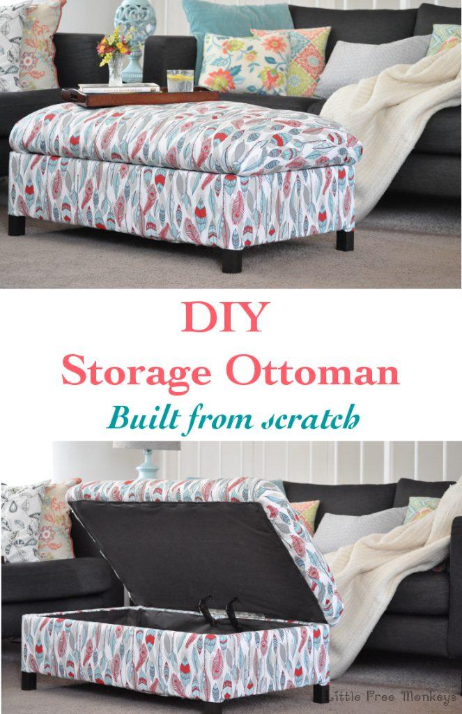 DIY-upholstered-ottoman www.chathamhillonthelake.com