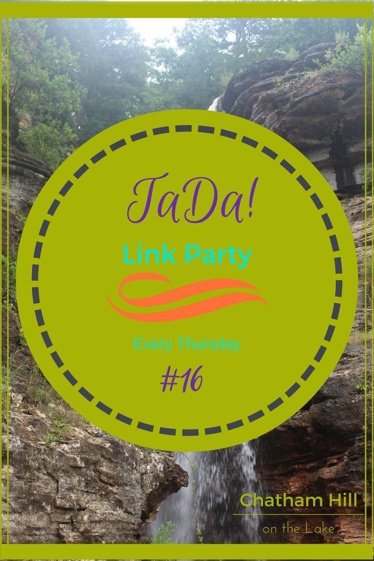 TaDa! Thursdays Link Party #16