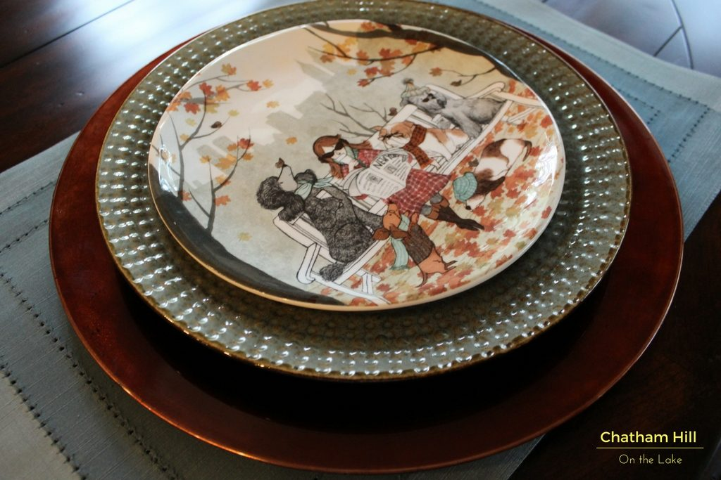 All Framed out, 4 layers make your tablescape look professional at www.chathamhillonthelake.com