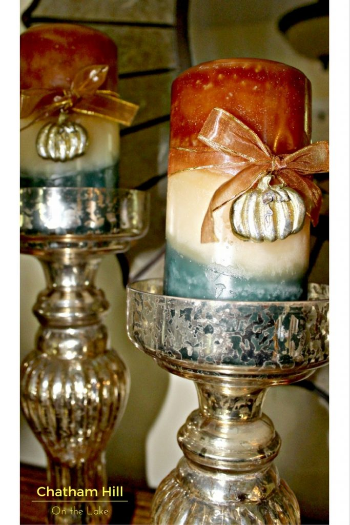 Scented and Decorative Candles for Fall at www.chathamhillonthelake.com