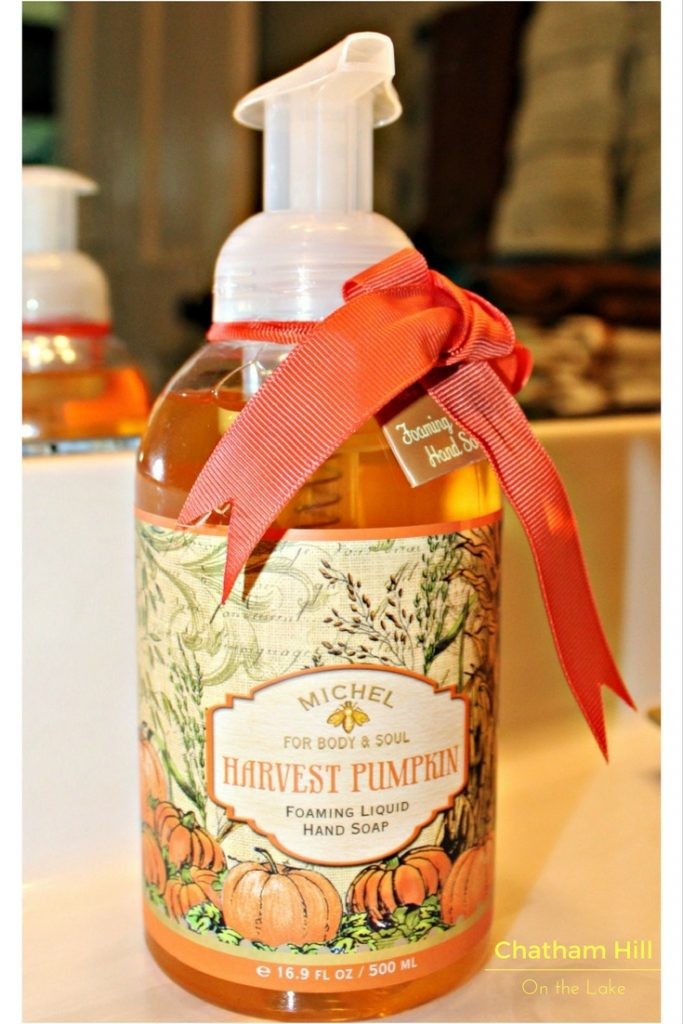 Pumpkin Soap Hand Soap at www.chathamhillonthelake.com