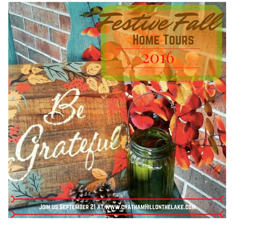 Festive Fall Home Tours www.chathamhillonthelake.com