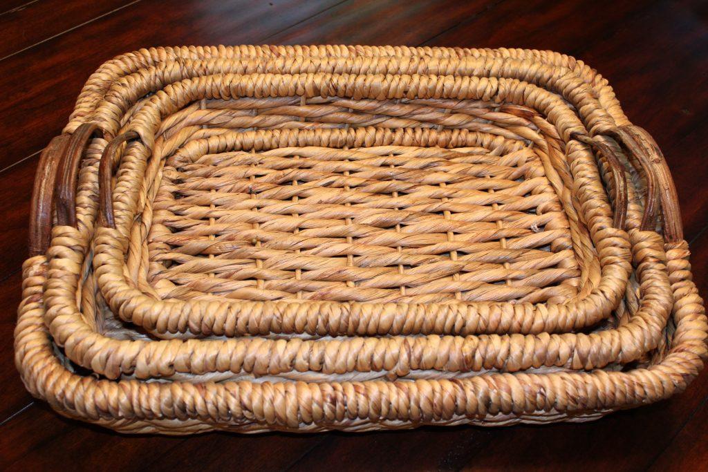 Basket Base for Centerpiece www.chathamhillonthelake.com