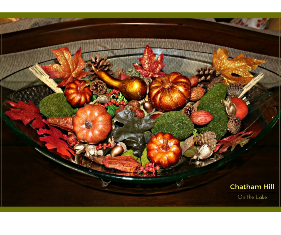 Scented Fall Bowl www'chathamhillonthelake.com