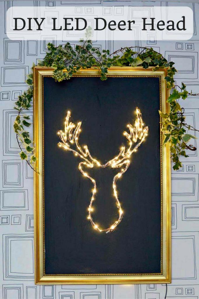 LED Deer Christmas decor www.chathamhillonthelake.com