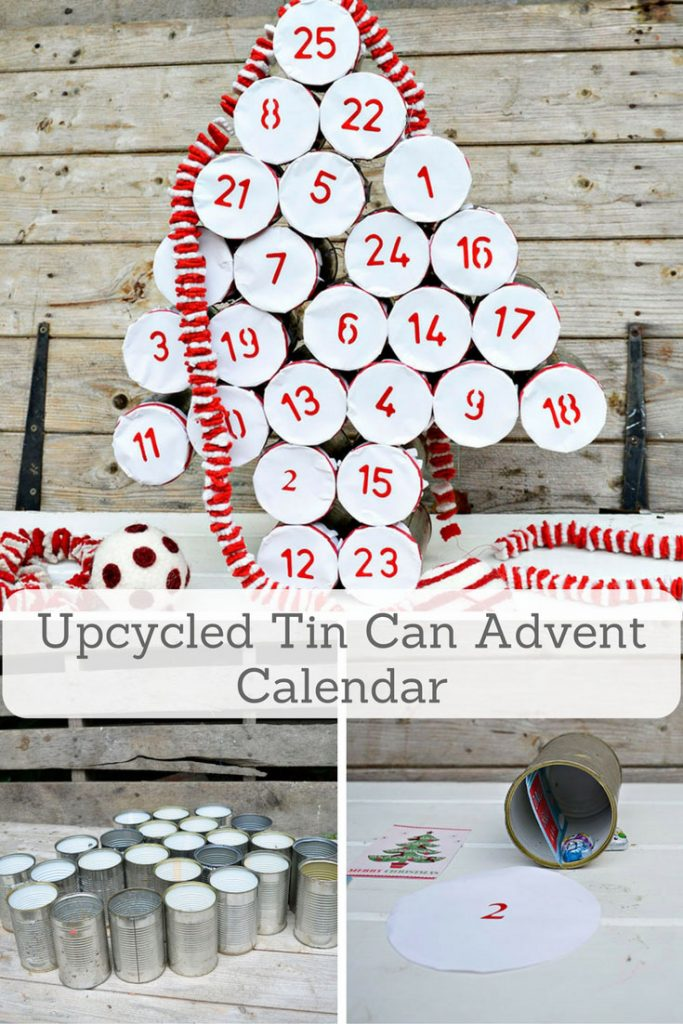 Tin Advent Calendar www.chathamhillonthelake.com