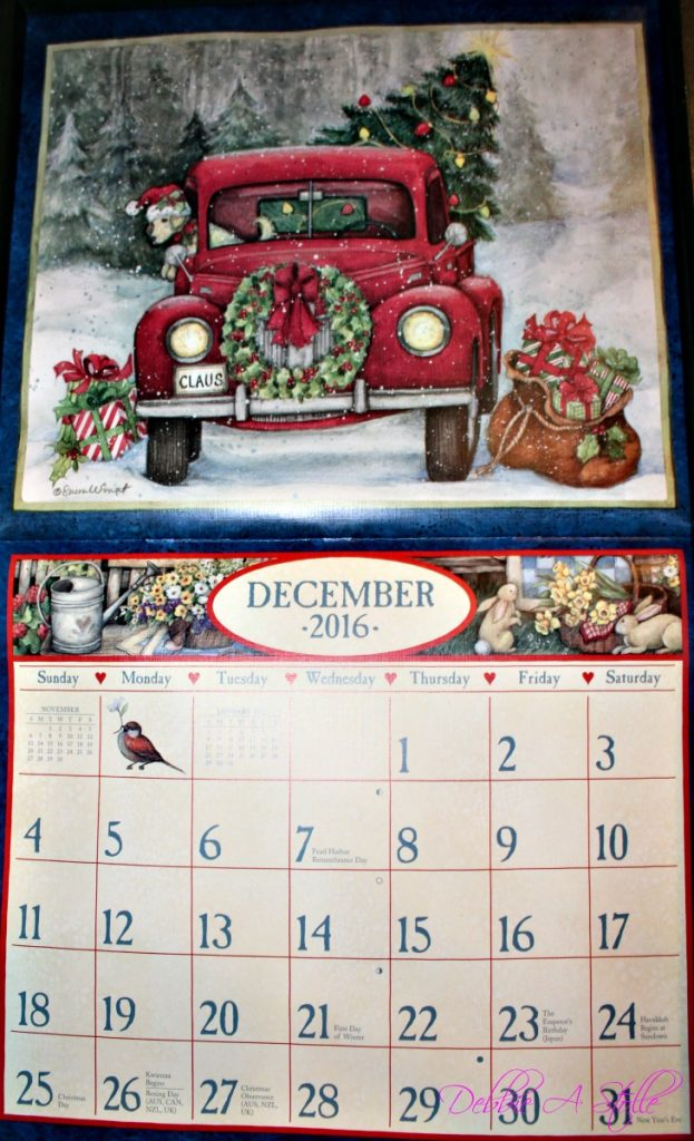 Christmas Calendar at www.chathamhillonthelake.com