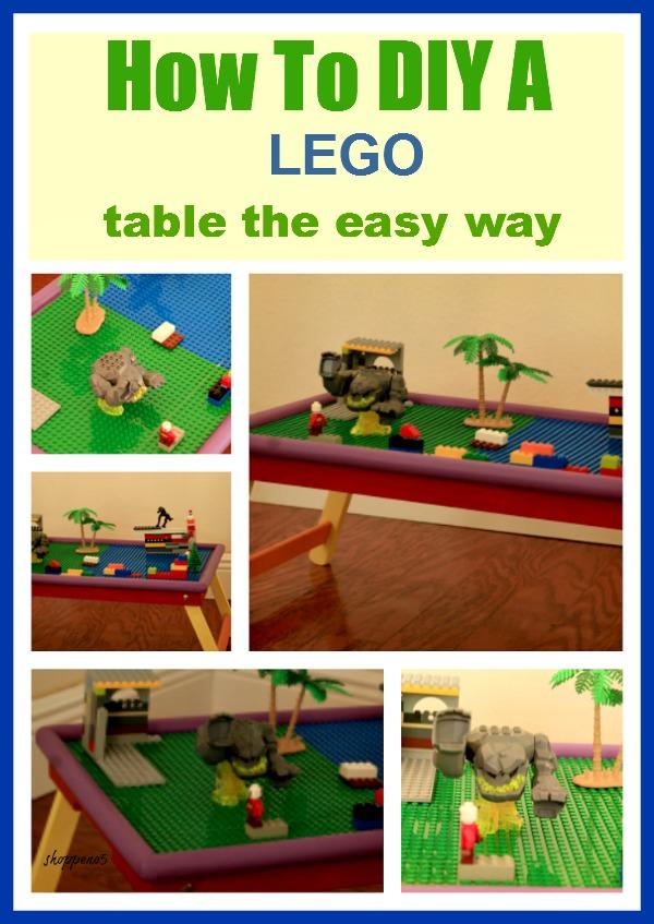 DIY Lego Table by Shoppe No 5