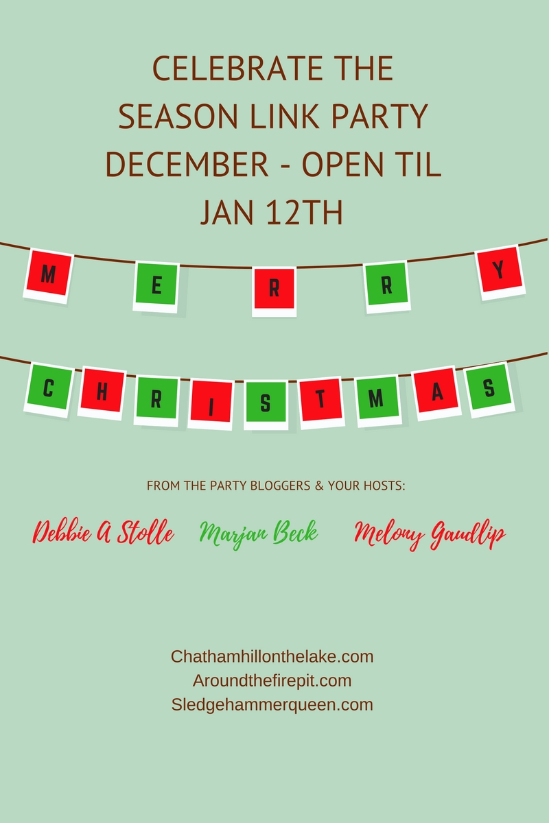 Celebrate the Season! December Link Party www.chathamhillonthelake.com
