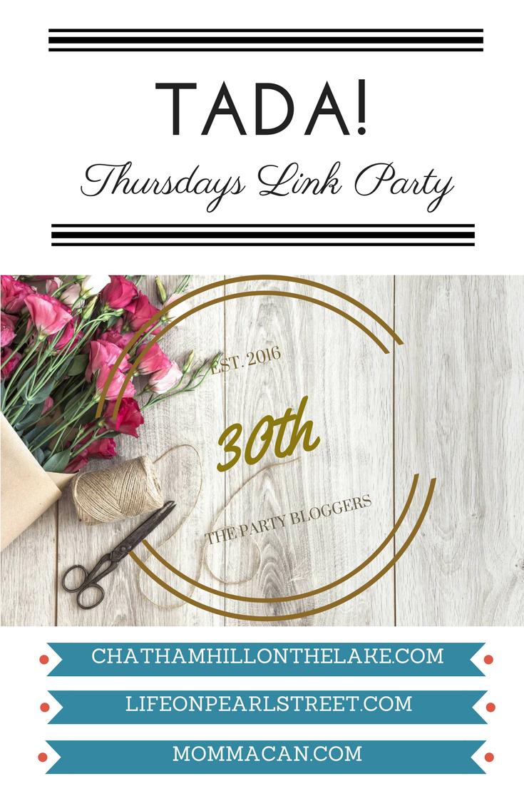 Link Party #30 TADA! Thursdays