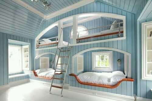 Gorgeous Built in Bunks www.chathamhillonthelake.com