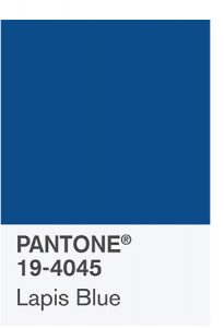 Lapis Blue Pantone color palette 2017