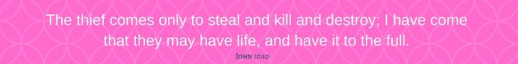 john 10:10 www.chathamhillonthelake.com