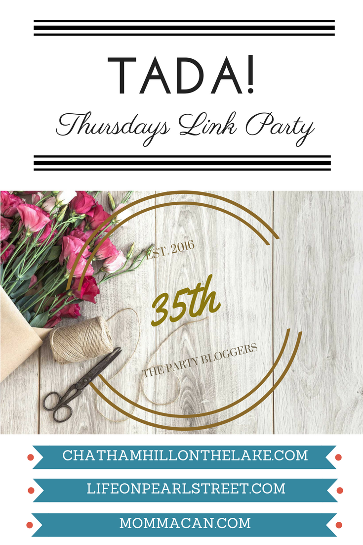 TADA! Thursdays Link Party by The Party Bloggers