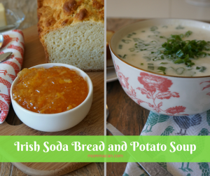 Pam's Irish Bread and Soup!