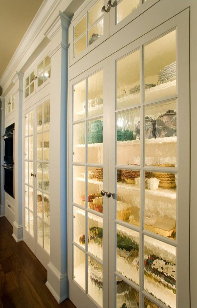 A Butler's Pantry with a view