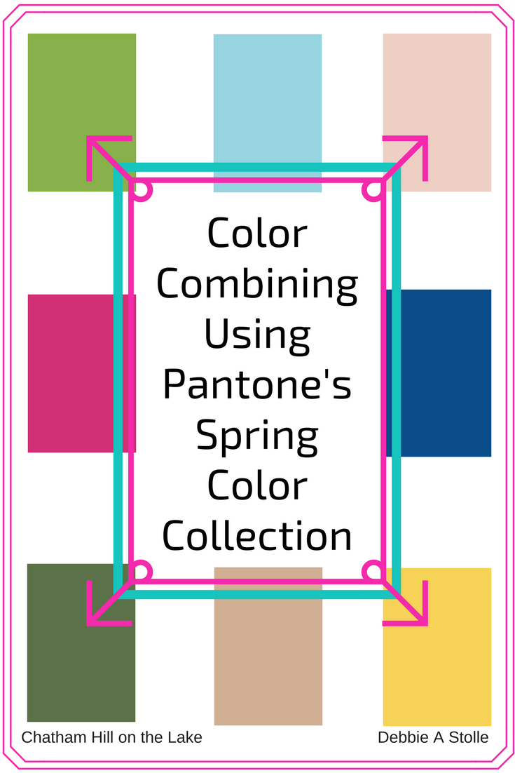 Color Combining Using Pantone's Spring Color Collection – Series (1)