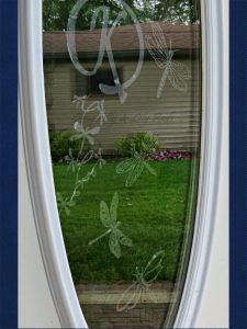 Faux Etched Glass www.chathamhillonthelake.com