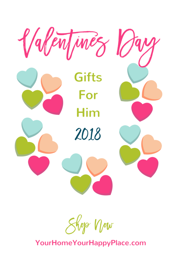 2018 Valentines Day Gifts for Men https://www.yourhomeyourhappyplace.com