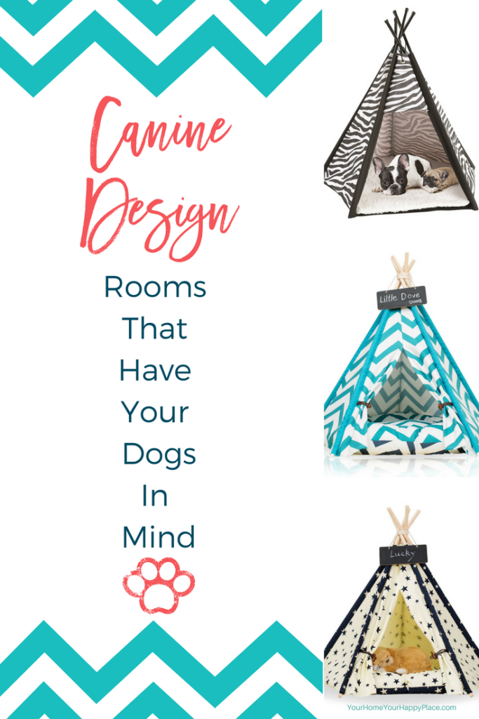 Rooms That Have Your Dogs In Mind. Imagine a place built in for your family friends. Simple planning can make their space as beautiful as the next room Https://www.yourhomeyourhappyplace.com