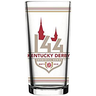 Official Kentucky Derby 144th Race glass www.yourhomeyourhappyplace.com