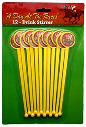 kentucky Derby stir sticks www.yourhomeyourhappyplace.com