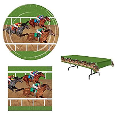 Derby Day at the races party supplies www.yourhomeyourhappyplace.com