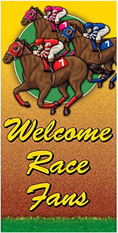 Kentucky Derby Door Banner www.yourhomeyourhappyplace.com