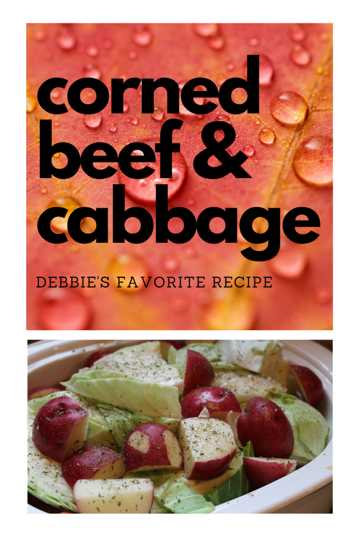 Corned Beef & Cabbage http://www.yourhomeyourhappyplace.com