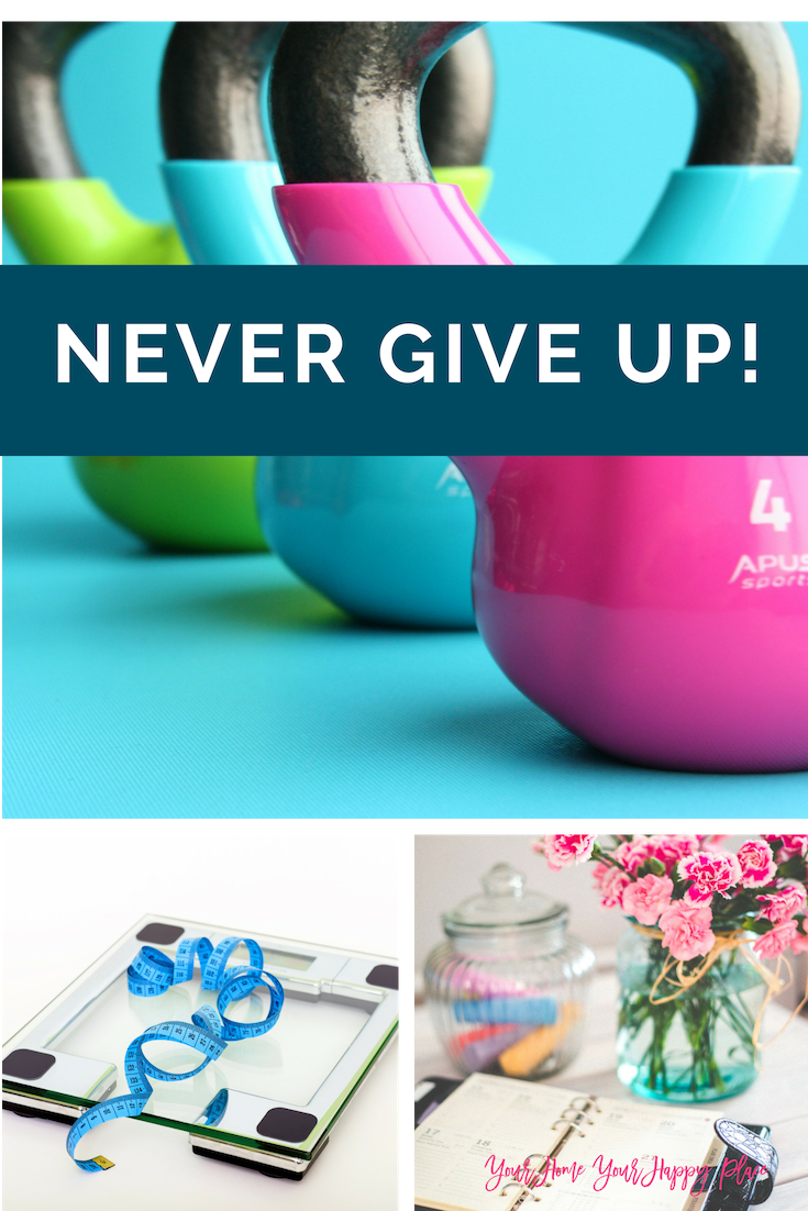 New Beginnings AKA Never Give Up www.yourhomeyourhappyplace.com