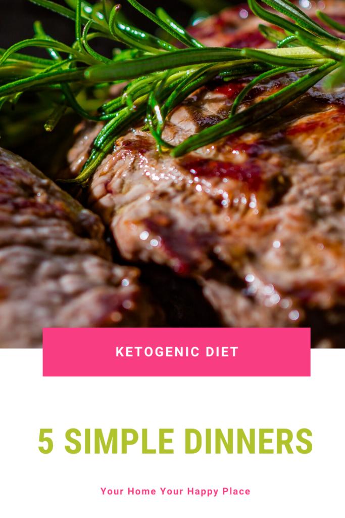 5 simple Keto dinners