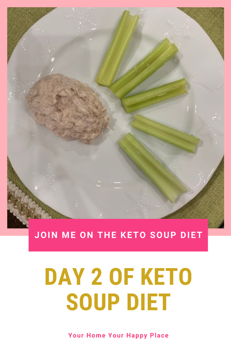 Join me on the Keto Soup Diet